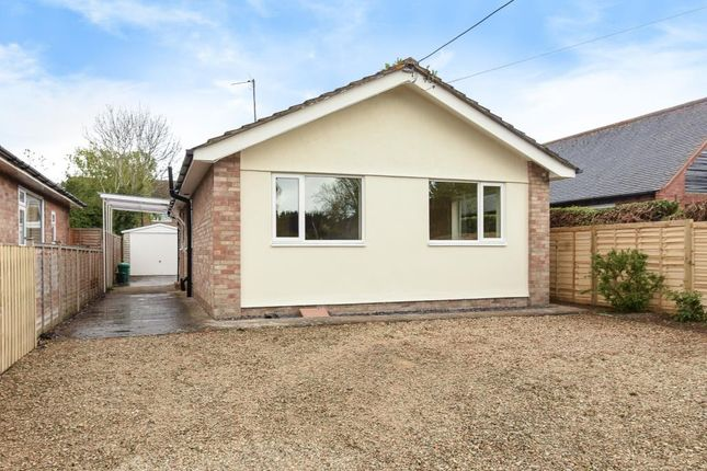 Thumbnail Detached bungalow to rent in Chalgrove, Oxford/Wallingford
