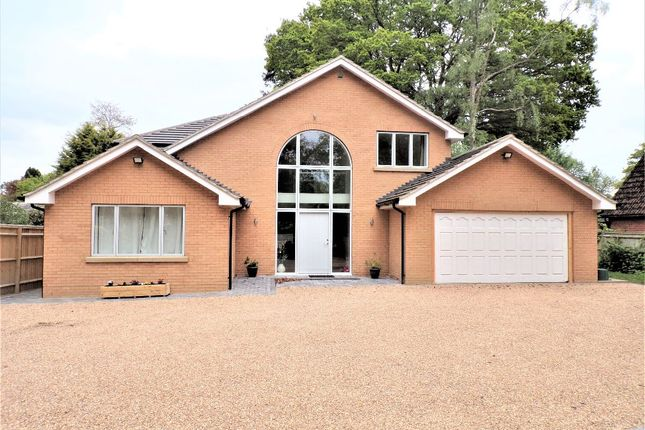 Thumbnail Detached house to rent in Kiln Ride, Finchampstead, Wokingham