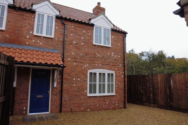 Thumbnail Semi-detached house to rent in Holly Close, Nocton, Lincoln