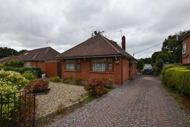 Thumbnail Detached bungalow for sale in Firacre Road, Ash Vale, Aldershot