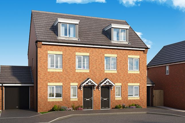 "Thumbnail Semi-detached house for sale in ""The Sycamore"" at Palmer Road, Dipton, Stanley"
