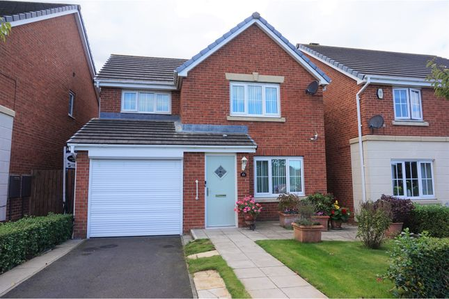 Thumbnail Detached house for sale in Manor Court, Newbiggin-By-The-Sea