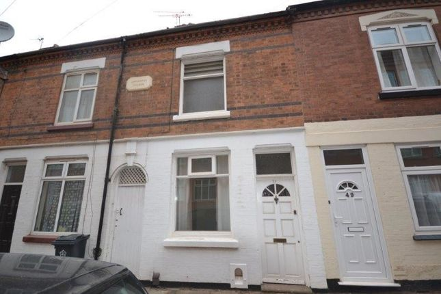 Thumbnail Terraced house to rent in Wordsworth Road, Knighton Fields, Leicester