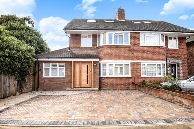 Thumbnail Semi-detached house for sale in Wychwood Close, Canons Park
