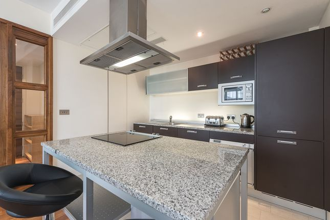 Kitchen of South Wharf Road, London W2
