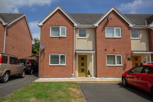 Thumbnail End terrace house for sale in Wellesley Way, Newport