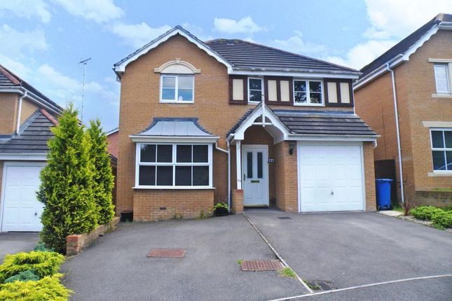 Thumbnail Detached house to rent in Babbage Way, Bracknell, Berkshire