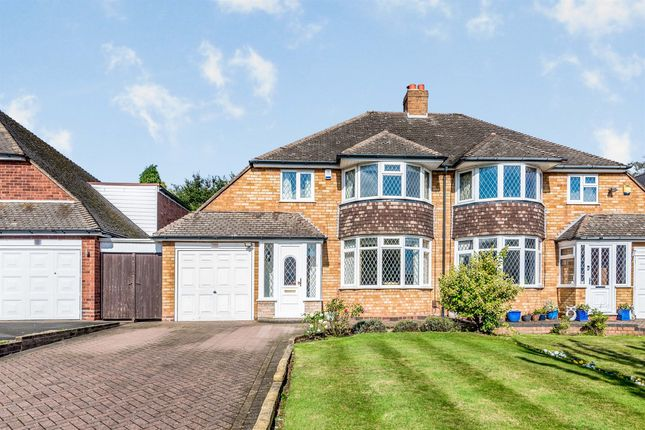 Thumbnail Semi-detached house for sale in Stirling Road, Sutton Coldfield