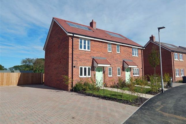 Thumbnail Semi-detached house to rent in Batchelor Way, Bishops Mead, Downton