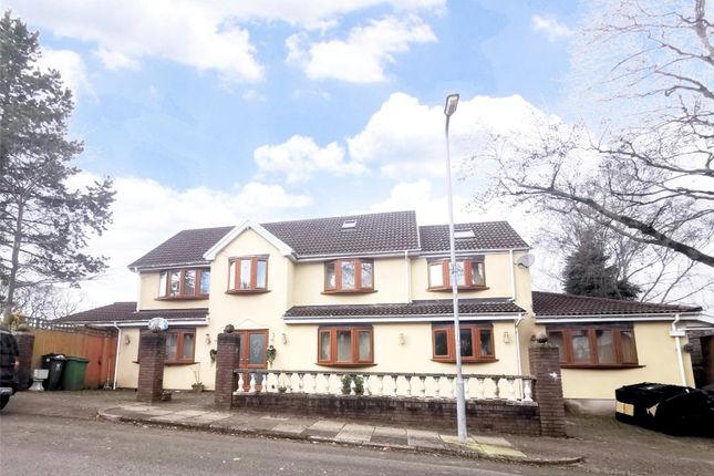 Thumbnail Detached house for sale in Duffryn Avenue, Lakeside, Cardiff