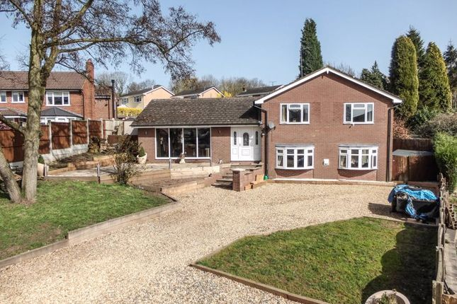Thumbnail Detached house for sale in Crewe Road, Madeley, Crewe