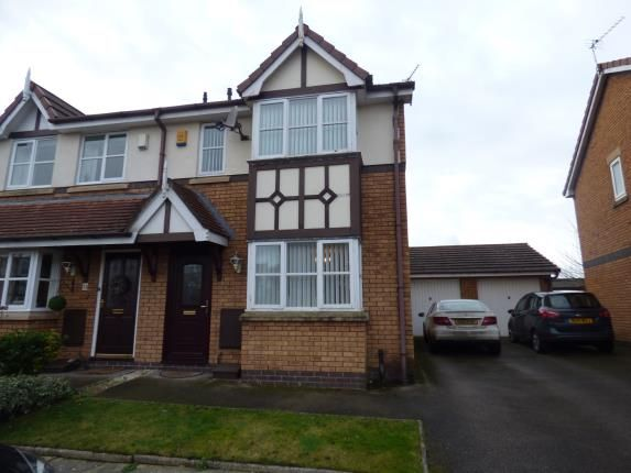 Thumbnail Semi-detached house for sale in Kings Meadow, Southport, Merseyside, Uk