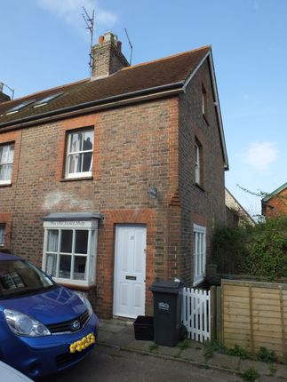Thumbnail End terrace house to rent in Mount Pleasant, Uckfield