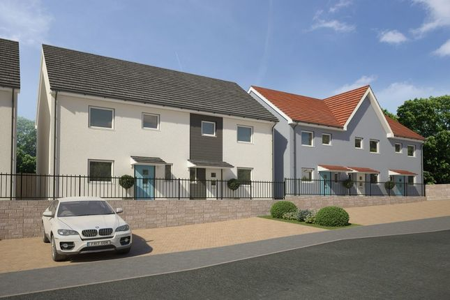 Thumbnail Terraced house for sale in The Hazel, Poets Corner, Chaucer Way, Plymouth