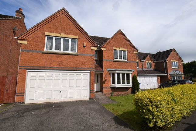 Thumbnail Detached house for sale in Grace Road, Trentham, Stoke-On-Trent