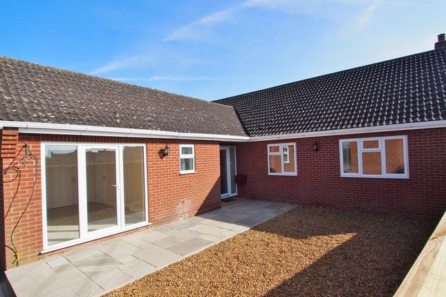 Thumbnail Detached bungalow for sale in The Rosery, Mulbarton, Norwich