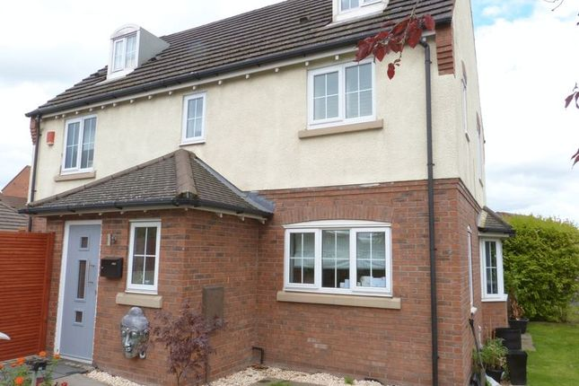 Thumbnail Detached house for sale in 2 Hornby Drive, Congleton, Cheshire