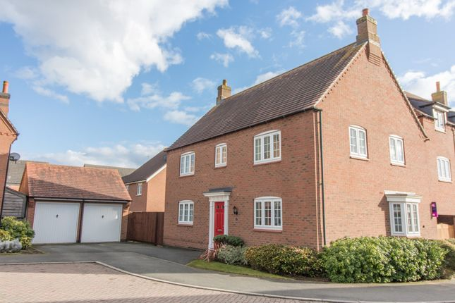 Thumbnail Detached house to rent in Millday Close, Kibworth Harcourt
