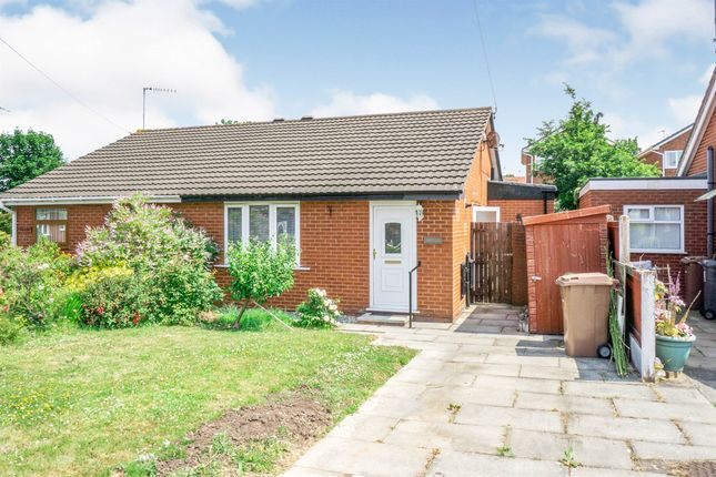 Thumbnail Semi-detached bungalow for sale in Pennystone Close, Upton, Wirral