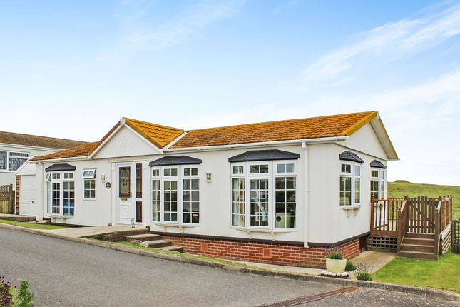 Thumbnail Mobile/park home for sale in Newhaven Heights, Court Farm Road, Newhaven