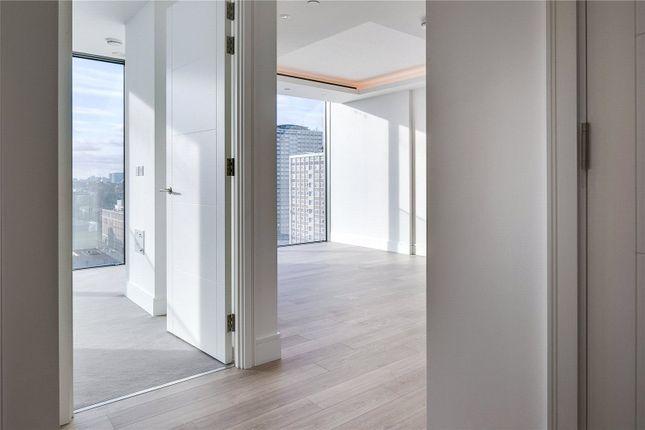 Hallway of Carrara Tower, 250 City Road, London EC1V