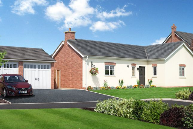 Thumbnail Bungalow for sale in Plot 6, Chelwood View, Crew Green, Shrewsbury