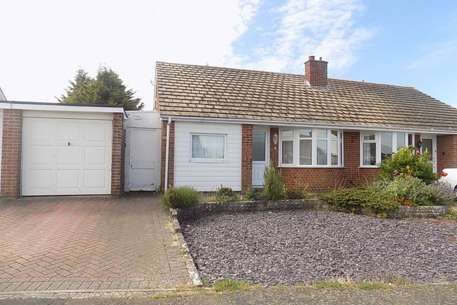 Thumbnail Semi-detached bungalow for sale in Hamlands Lane, Willingdon, Eastbourne