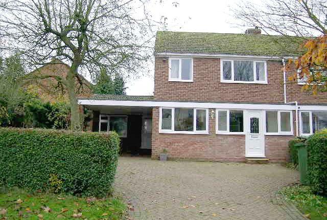 Thumbnail Semi-detached house to rent in Austrey Lane, Newton Regis, Tamworth, Warwickshire