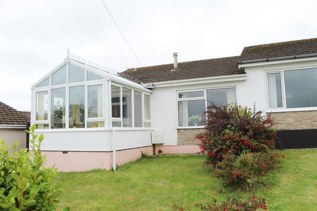 Thumbnail Terraced bungalow for sale in Scandinavia Heights, Saundersfoot