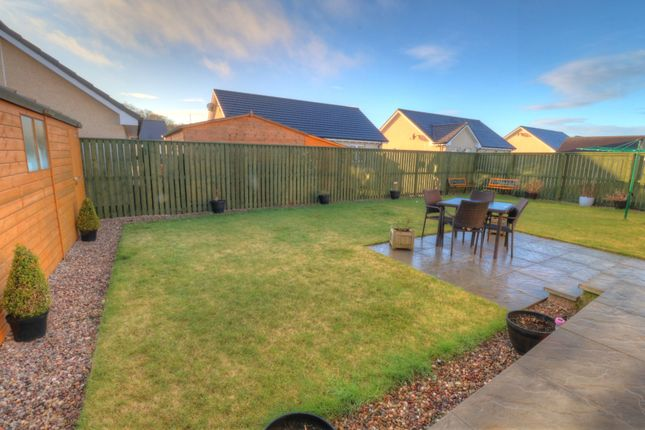 Rear Garden of Pine Way, Friockheim, Arbroath DD11