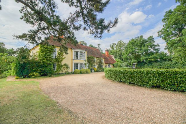 Thumbnail Detached house for sale in Crepping Hall Road, Wakes Colne, Colchester, Essex
