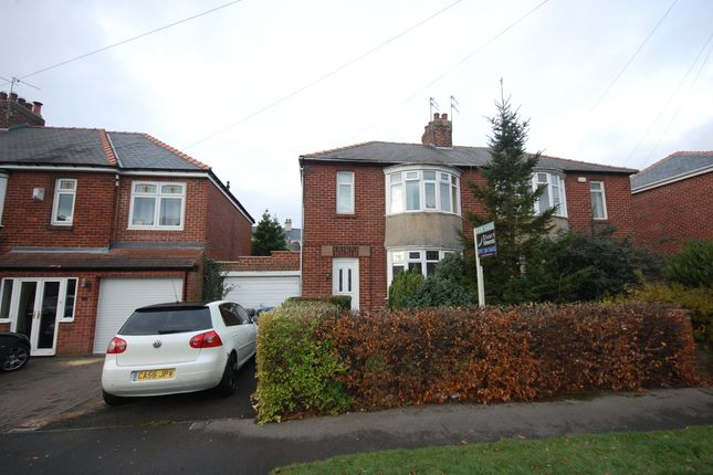 Thumbnail Semi-detached house to rent in Durham Moor Crescent, Durham City, Durham
