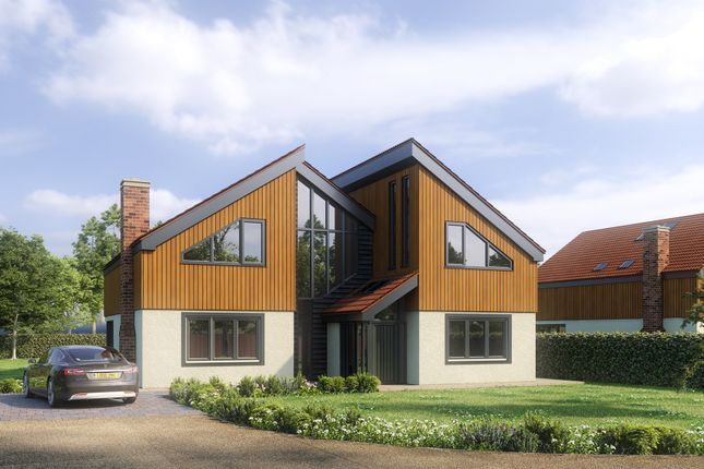 Thumbnail Detached house for sale in Leys Lane, Attleborough
