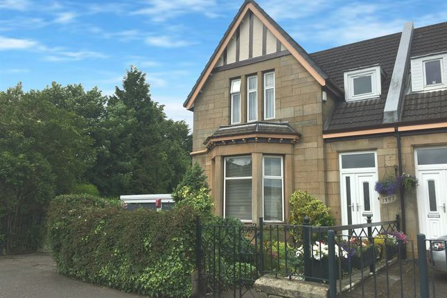 Thumbnail Semi-detached house for sale in Springburn Road, Colston, Glasgow