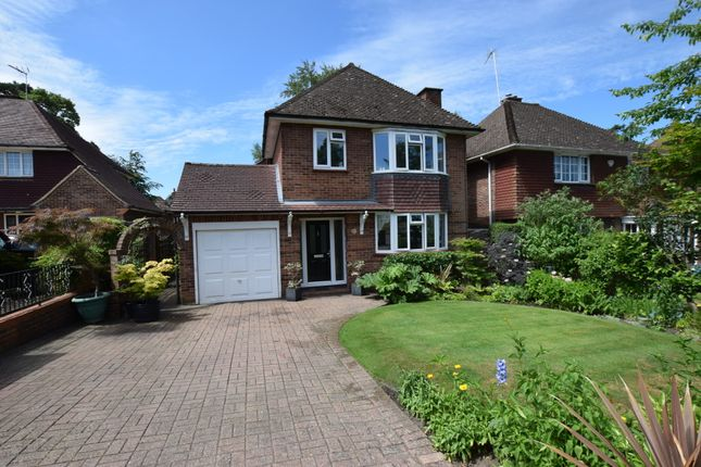 Thumbnail Detached house for sale in The Verne, Church Crookham, Fleet