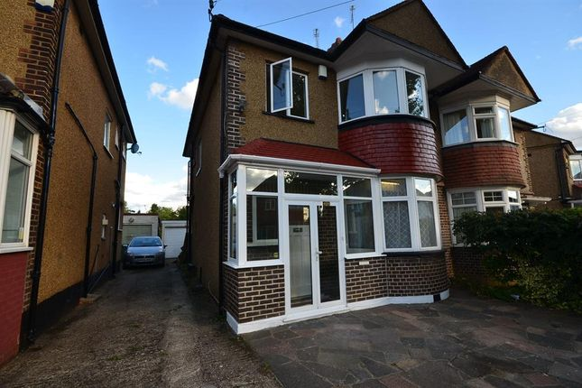 3 bed semi-detached house to rent in Montpilier Rise, Wembley, Middlesex HA9