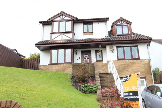 Thumbnail Detached house for sale in Hollybush Grove -, Porth