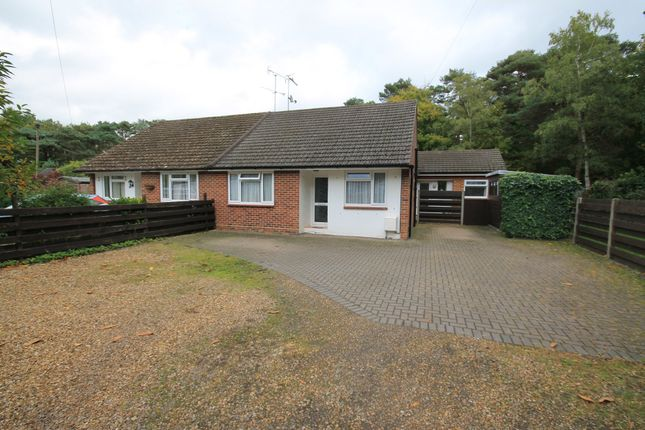 Thumbnail Semi-detached bungalow for sale in Ridgemont, Bellew Road, Deepcut, Camberley