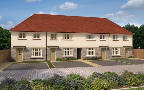 Thumbnail Terraced house for sale in Glenwood Park, Old Bideford Road, Barnstaple, Devon