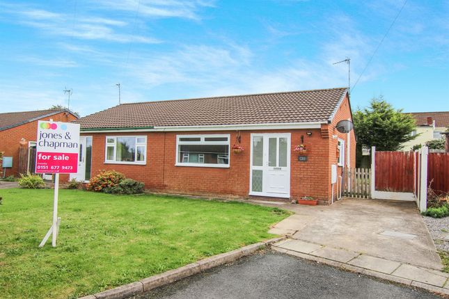Thumbnail Semi-detached bungalow for sale in Stanmore Park, Greasby, Wirral