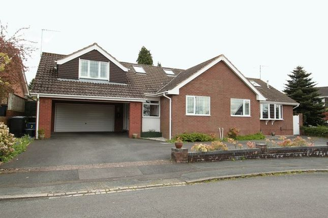 Thumbnail Detached house for sale in Sedbergh Close, Newcastle-Under-Lyme