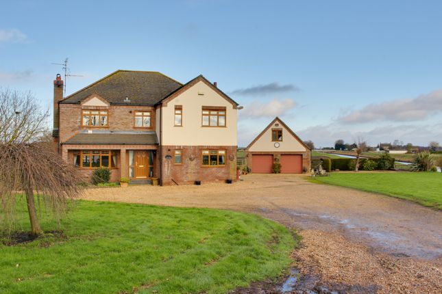 Thumbnail Detached house for sale in Christchurch, Wisbech