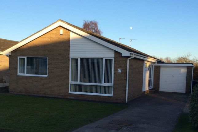 Thumbnail Bungalow for sale in The Glebe, Stannington, Morpeth