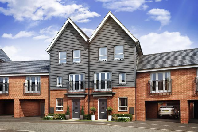 "Thumbnail Terraced house for sale in ""Faversham Special"" at Countess Way, Broughton, Milton Keynes"