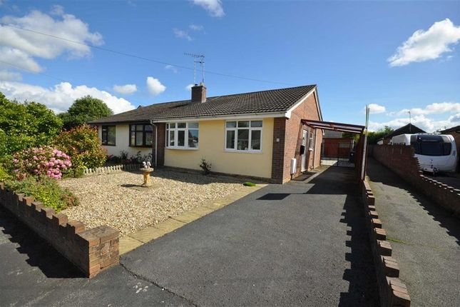 Thumbnail Semi-detached bungalow for sale in Aberllanerch Drive, Buckley
