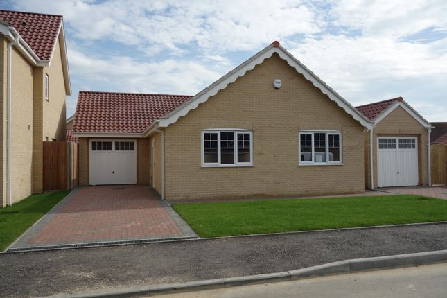 Thumbnail Detached bungalow for sale in Barn Owl Close, Station Road, Reedham, Norwich
