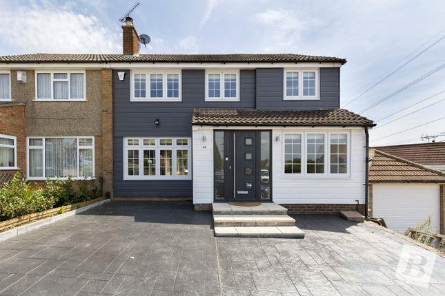 Thumbnail Semi-detached house for sale in Pepper Hill, Northfleet, Gravesend, Kent
