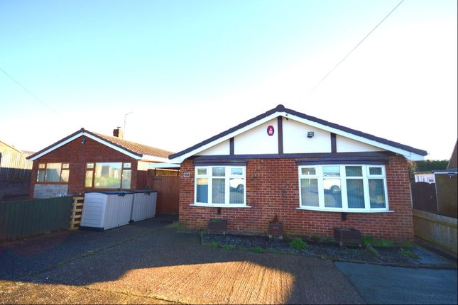 Thumbnail Bungalow for sale in Park Road, Newhall, Swadlincote