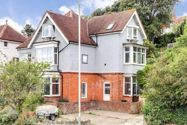 Thumbnail Detached house for sale in Sandgate Hill, Sandgate, Folkestone