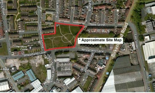 Thumbnail Land for sale in Wheatland Lane, Wallasey, Wirral